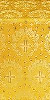 Nativity Star silk (rayon brocade) (yellow/gold)
