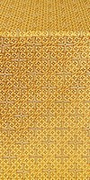Jerusalem Cross silk (rayon brocade) (yellow/gold)