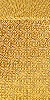 Jerusalem Cross metallic brocade (yellow/gold)