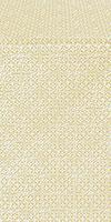 Jerusalem Cross silk (rayon brocade) (white/gold)