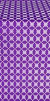 Snowflake silk (rayon brocade) (violet/silver)