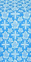 Ajur Cross silk (rayon brocade) (blue/silver)