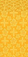 Ajur Cross metallic brocade (yellow/gold)
