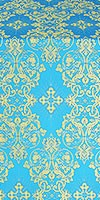 Sloutsk metallic brocade (blue/gold)