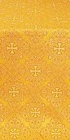 Alania silk (rayon brocade) (yellow/gold)