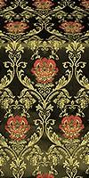 Pavlov Rose metallic brocade (black/gold)