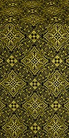 Vilno metallic brocade (black/gold)