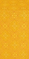 Vilno silk (rayon brocade) (yellow/gold)