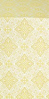 Vilno metallic brocade (white/gold)