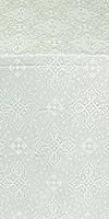 Vilno metallic brocade (white/silver)