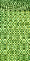 Elets silk (rayon brocade) (green/gold)