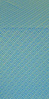 Omsk silk (rayon brocade) (blue/gold)