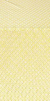 Omsk silk (rayon brocade) (white/gold)