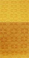 Czar's metallic brocade (yellow/gold)