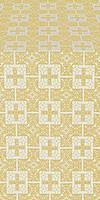 Czar's metallic brocade (white/gold)