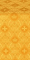 Kingdom silk (rayon brocade) (yellow/gold)