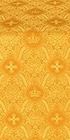 Kingdom metallic brocade (yellow/gold)