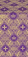 Kingdom metallic brocade (violet/gold)