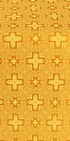 Ancient Byzantium metallic brocade (yellow/gold)