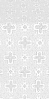 Ancient Byzantium silk (rayon brocade) (white/silver)