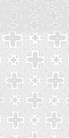Ancient Byzantium metallic brocade (white/silver)