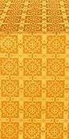 Ryazan metallic brocade (yellow/gold)