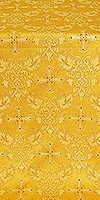 Koursk metallic brocade (yellow/gold)