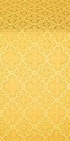 Kazan' silk (rayon brocade) (yellow/gold)