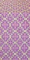 Kazan' metallic brocade (violet/gold)