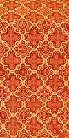 Kazan' metallic brocade (red/gold)