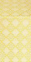Kazan' silk (rayon brocade) (white/gold)