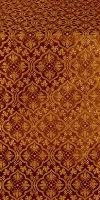 Arkhangelsk silk (rayon brocade) (claret/gold)