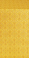 Arkhangelsk silk (rayon brocade) (yellow/gold)