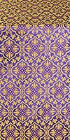 Arkhangelsk metallic brocade (violet/gold)