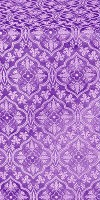 Arkhangelsk silk (rayon brocade) (violet/silver)