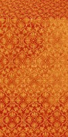 Arkhangelsk metallic brocade (red/gold)