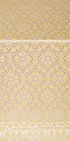 Arkhangelsk metallic brocade (white/gold)