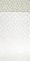 Arkhangelsk metallic brocade (white/silver)
