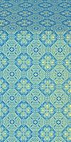 Pokrov metallic brocade (blue/gold)