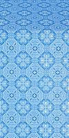 Pokrov metallic brocade (blue/silver)