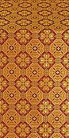 Pokrov metallic brocade (claret/gold)