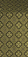 Pokrov metallic brocade (black/gold)