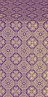 Pokrov metallic brocade (violet/gold)