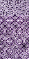 Pokrov metallic brocade (violet/silver)
