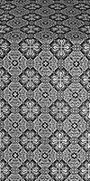 Pokrov metallic brocade (black/silver)