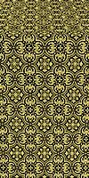 Vasiliya metallic brocade (black/gold)