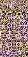 Vasiliya metallic brocade (violet/gold)