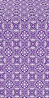 Vasiliya metallic brocade (violet/silver)