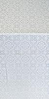 Vasiliya metallic brocade (white/silver)