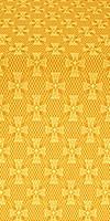 Petrograd metallic brocade (yellow/gold)
